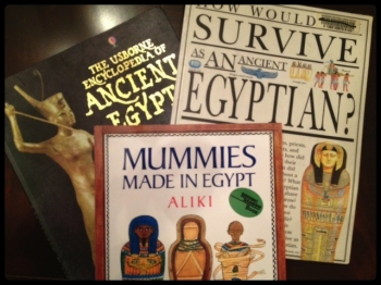 mummy books