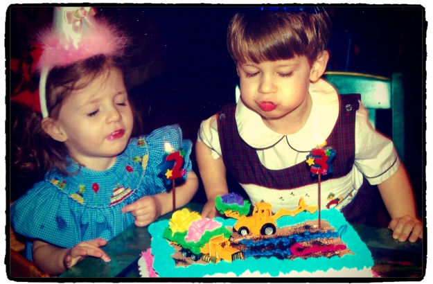 5 years ago ~ turning 2 and 3
