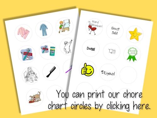 print chore chart