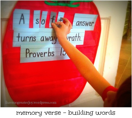 mem verse building words