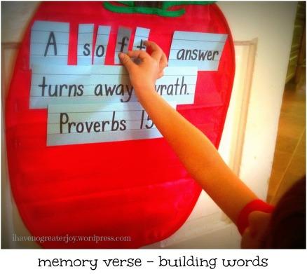 mem verse building words