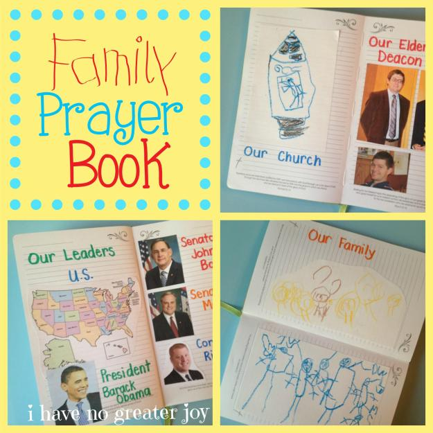 family prayer book squares