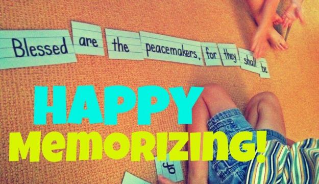 happy memorizing