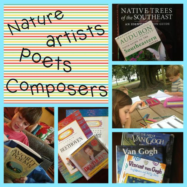 nature poet compose coll
