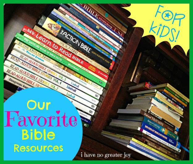 fav bible resources kids