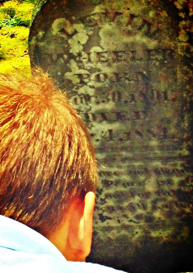 Leven tombstone