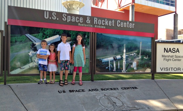 a stop at the space center on our way to the beach