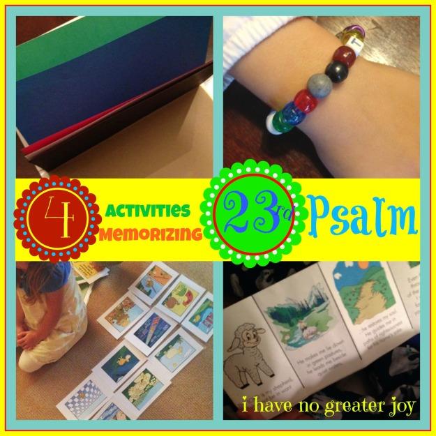 4 activ psalm23